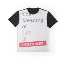 Spoiler Alert Graphic T-Shirt