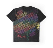 Retro Rainbow Graphic T-Shirt
