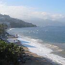 A Chilly Wintermorning at Olas Altas Beach - Una Mañana Fria en la Playa by PtoVallartaMex