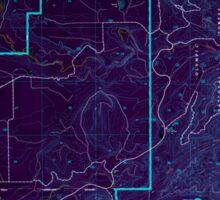USGS Topo Map Washington State WA Salmon River East 243566 1995 24000 Inverted Sticker