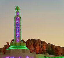 Ramones' House of Body Art, Radiator Springs USA by glendroid