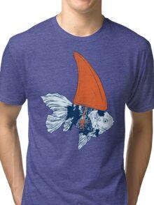 Big fish in a small pond Tri-blend T-Shirt