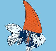 Big fish in a small pond by Evgenia Chuvardina