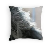 Feathers I Throw Pillow