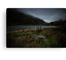 Ominous weather. Canvas Print