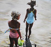 Beach Babes by Juliane Porter