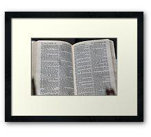 Matthew 18 Framed Print