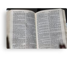 Matthew 18 Canvas Print