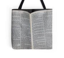Matthew 18 Tote Bag