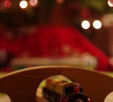 Christmas Train by John Ayo