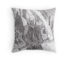 ghost rider in the star wars universe Throw Pillow