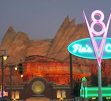 Cars Land - Radiator Springs by glendroid