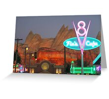 Cars Land - Radiator Springs Greeting Card