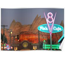 Cars Land - Radiator Springs Poster