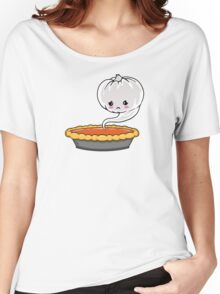 Sad Pumpkin | Cute Pumpkin Ghost  Women's Relaxed Fit T-Shirt