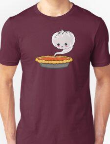 Sad Pumpkin | Cute Pumpkin Ghost  Unisex T-Shirt