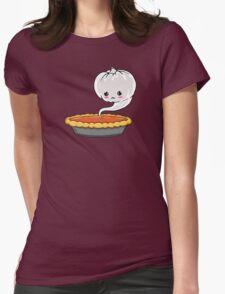 Sad Pumpkin | Cute Pumpkin Ghost  Womens Fitted T-Shirt