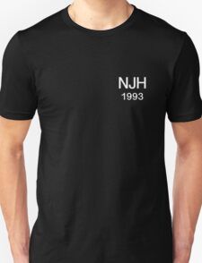 Niall Horan 1993 (Initials and Year of Birth) Unisex T-Shirt