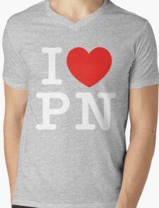 I Love Panem (for dark tee's) Mens V-Neck T-Shirt