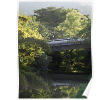 Bridge Mirroring - Puente En Reflejo Poster