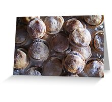 Mince Pie Greeting Card