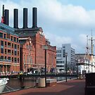 Baltimore inner harbor by Marjorie Wallace