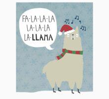 Fa La La La Llama - Christmas  Kids Tee
