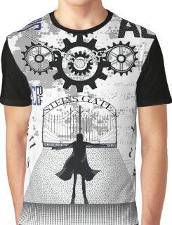 World Line Convergence - Stein;s Gate  Graphic T-Shirt