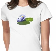 Purple Water Lilies in Sunshine T-Shirt