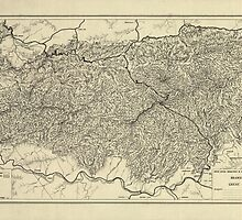 The Great Smoky Mountains National Park Map (1935) by BravuraMedia