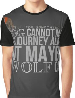 ... A Wolf Can Graphic T-Shirt