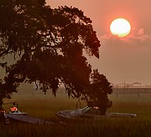 Tideland Sunrise by jimcrotty