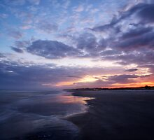 December Sunset at Burke's Beach by jimcrotty