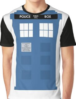 TARDIS - Doctor Who - Police Box Graphic T-Shirt