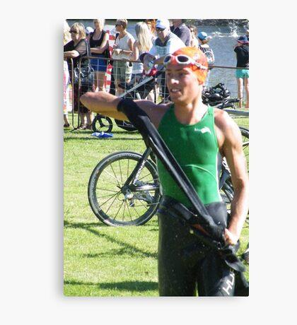 Benalla Triathlon 2011 Canvas Print