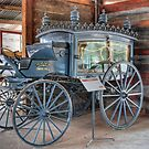 The Hearse, Swan Hill Pioneer Village, Victoria by Adrian Paul