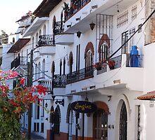 Impressions - Streets Of Puerto Vallarta IV / Impresiónes - Calles De Puerto Vallarta by Bernhard Matejka