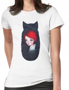 My Home Forest Womens Fitted T-Shirt