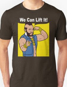 Gym Mr T We Can Lift It! T-Shirt