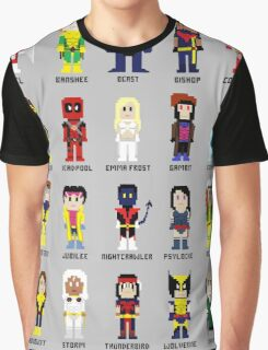 8-Bit Super Heroes 2: The Mutant-ing! Graphic T-Shirt