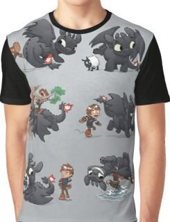How Not to Train Your Dragon Graphic T-Shirt