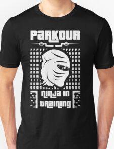 Parkour-ninja in training T-Shirt