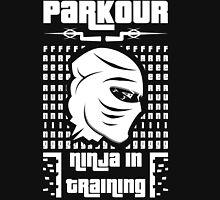 Parkour-ninja in training Unisex T-Shirt