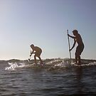 Christmas Eve SUP Sesh by KateMatheson