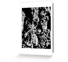 Reptile Noir Greeting Card
