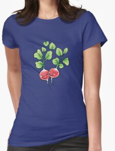 Veggie lovin' Womens Fitted T-Shirt