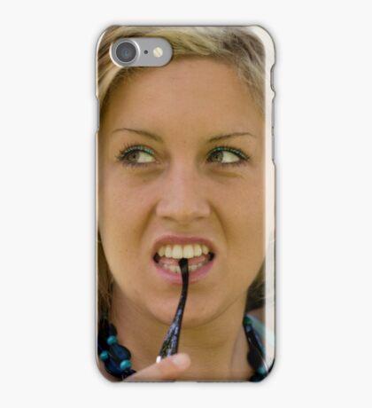 Seductive Joanna iPhone Case/Skin