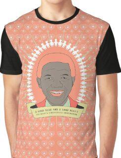 Tata Madiba - A Good Heart (in peach) Graphic T-Shirt