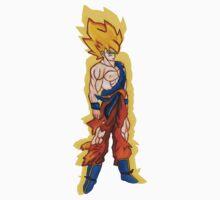 Goku Super Saiyan Kids Clothes