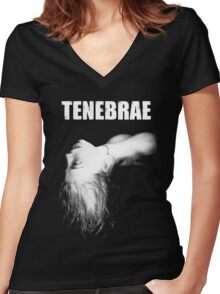 Tenebrae- Dario Argento Women's Fitted V-Neck T-Shirt